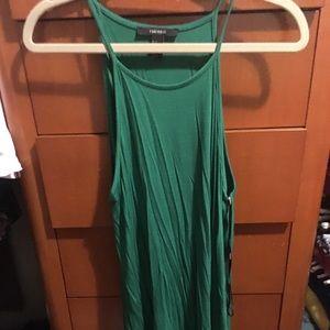 Forever 21 Green Summer Dress